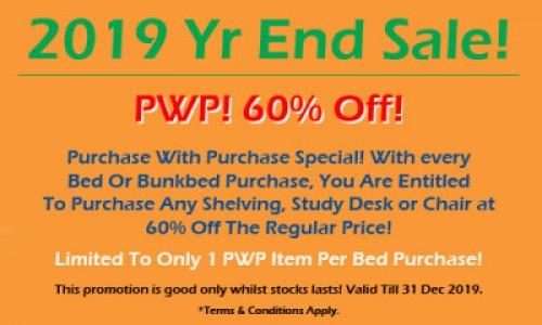 2019 Yr End SALE!